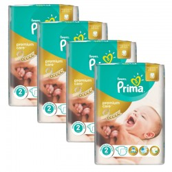 Giga Pack 110 Couches Pampers Premium Care - Prima taille 2