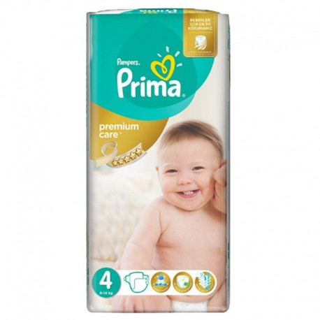 Pack 20 Couches Pampers Premium Care - Prima taille 4 sur Promo Couches