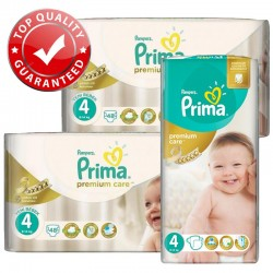 Maxi Pack 560 Couches Pampers Premium Care - Prima taille 4