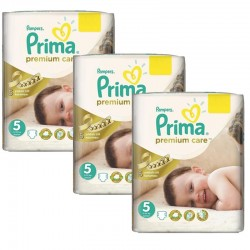 Maxi Giga Pack 378 Couches Pampers Premium Care - Prima taille 5 sur Promo Couches