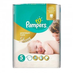 Pack 60 Couches Pampers Premium Care - Prima taille 5 sur Promo Couches
