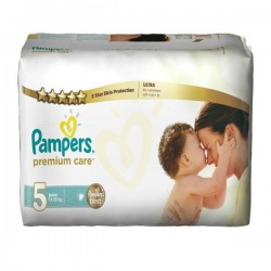 Pack 30 Couches Pampers Premium Care taille 5 sur Promo Couches