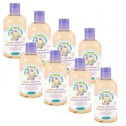 8 Gels douches EFB - Earth Friendly Baby Bio Mandarine sur Promo Couches