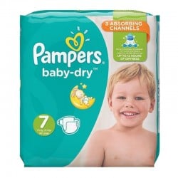 Pack 30 couches Pampers Baby Dry sur Promo Couches