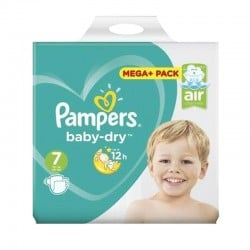 Pack 58 couches Pampers Baby Dry sur Promo Couches