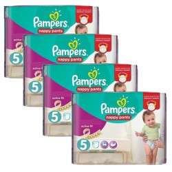 Giga Pack 160 couches Pampers Active Fit Pants sur Promo Couches