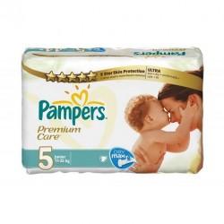 Pack économique de 240 Couches Pampers Premium Care de taille 5