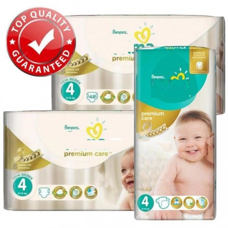 Maxi giga pack 306 Couches Pampers New Baby Premium Care taille 4 sur Promo Couches
