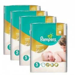 Maxi giga pack 360 Couches Pampers Premium Care taille 5 sur Promo Couches