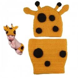 Mon premier ensemble Premier ensemble nouveaux nés Choupinet Girafe de taille 0-12Mois sur Promo Couches