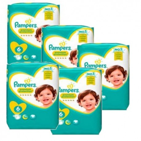 Mega pack 152 Couches Pampers New Baby Premium Protection taille 6 sur Promo Couches