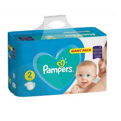 Pack 94 Couches Pampers Active Baby Dry taille 2