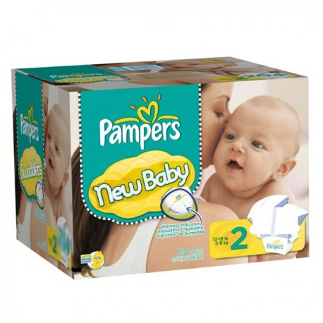 Mega pack 174 Couches Pampers Baby Dry taille 2 sur Promo Couches