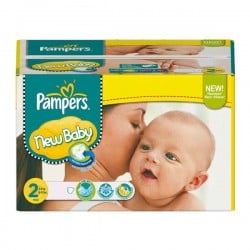 Pack jumeaux 522 Couches Pampers Baby Dry taille 2 sur Promo Couches
