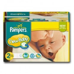 Pack jumeaux 580 Couches Pampers Baby Dry taille 2 sur Promo Couches