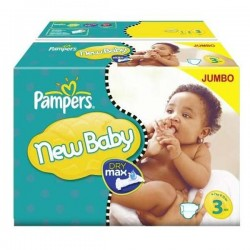 Mega pack 120 Couches Pampers New Baby Premium Protection taille 3