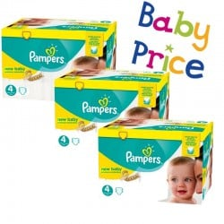 Giga pack 216 Couches Pampers New Baby Premium Protection taille 4