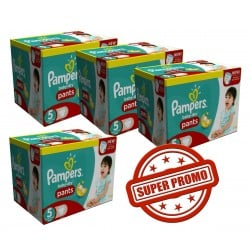 Giga pack 228 Couches Pampers Baby Dry Pants taille 6 sur Promo Couches