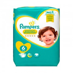 Pack 31 Couches Pampers New Baby Premium Protection taille 6 sur Promo Couches