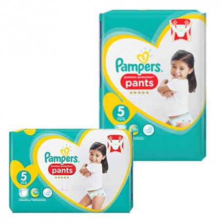 Mega pack 150 Couches Pampers Premium Protection Pants taille 5 sur Promo Couches