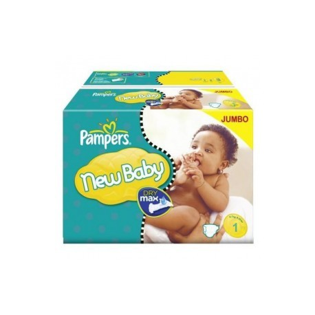 Maxi mega pack 484 Couches Pampers Premium Protection taille 1 sur Promo Couches