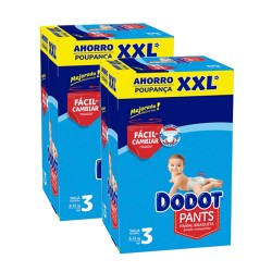 Pack 74 Couches Dodot 0 taille 3