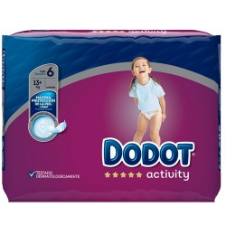 Pack 39 Couches Dodot Activity taille 6