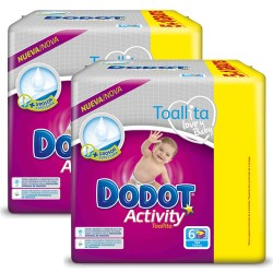 Pack 78 Couches Dodot Activity taille 6