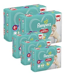 Maxi giga pack 328 Couches Pampers Baby Dry Pants taille 4+ sur Promo Couches