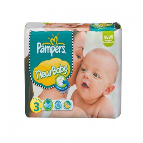 Pack 68 Couches Pampers New Baby Premium Protection taille 3 sur Promo Couches