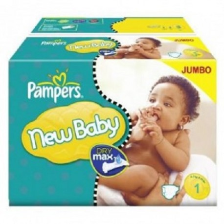 Pack jumeaux 504 Couches Pampers Premium Protection taille 1 sur Promo Couches