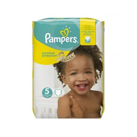 Pack 68 Couches Pampers Premium Protection taille 5 sur Promo Couches