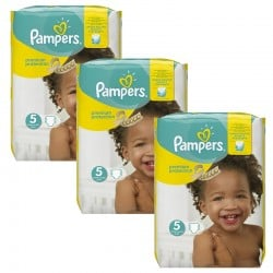 Pack jumeaux 544 Couches Pampers Premium Protection taille 5