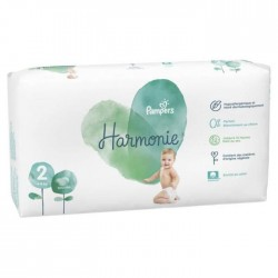 Pack 78 Couches Pampers Harmonie taille 2 sur Promo Couches