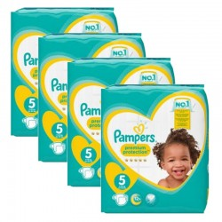 Giga pack 240 Couches Pampers Premium Protection taille 5