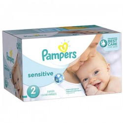 Maxi Giga Pack 280 couches Pampers New Baby Sensitive