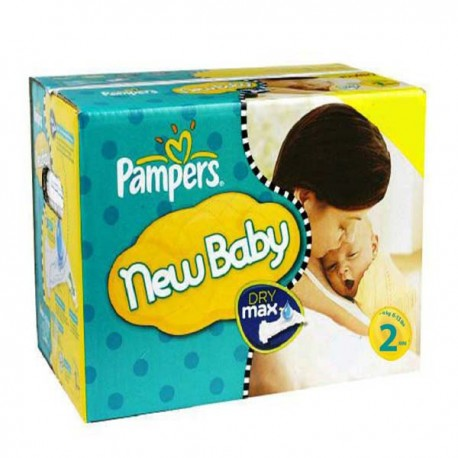 217 Couches Pampers New Baby Premium Protection taille 2 sur Promo Couches