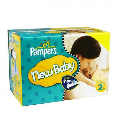 310 Couches Pampers New Baby Premium Protection taille 2 sur Promo Couches