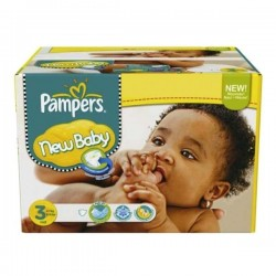 Maxi giga pack 315 Couches Pampers New Baby Premium Protection taille 3 sur Promo Couches