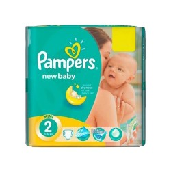 Pack 80 Couches Pampers New Baby Premium Protection taille 2 sur Promo Couches