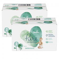 Maxi giga pack 324 Couches Pampers Pure Protection taille 2