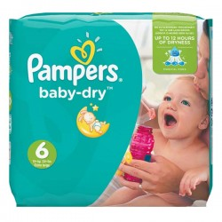 Pack 58 couches Pampers Baby Dry