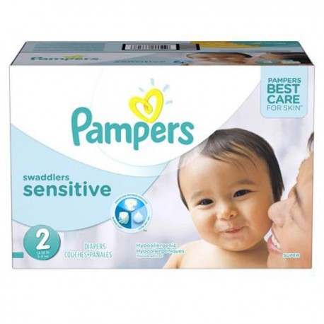 600 Couches Pampers New Baby Sensitive taille 2 sur Promo Couches