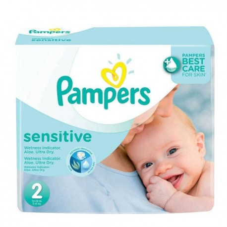 660 Couches Pampers New Baby Sensitive taille 2 sur Promo Couches