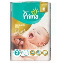 Pack 22 Couches Pampers New Baby Premium Care taille 2 sur Promo Couches