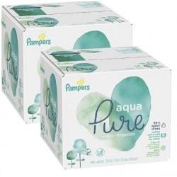348 384 Lingettes Bébés Pampers Aqua Pure