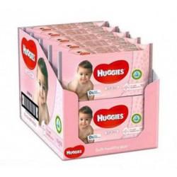Giga pack 224 Lingettes Bébés Huggies Soft Skin