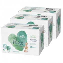 Giga pack 270 Couches Pampers Pure Protection taille 2 sur Promo Couches