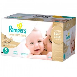 Maxi giga pack 390 Couches Pampers Premium Care taille 5