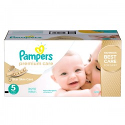 Maxi mega pack Maxi mega pack Couches Pampers Premium Care taille 5